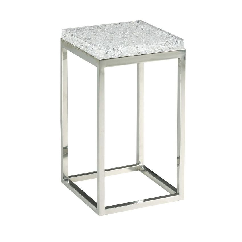 HIDDEN TREASURES-ACRYLIC LAMP TABLE
