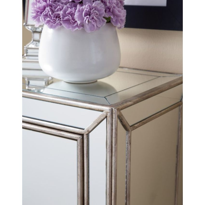 Small Mirrored Cabinet - 3