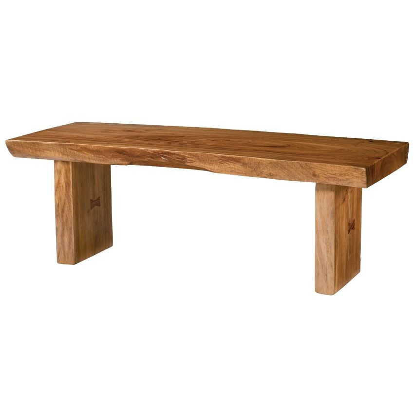HIDDEN TREASURES-Live Edge Cocktail Table
