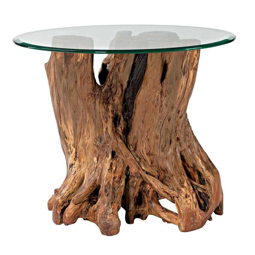 Root Ball End Table - 1