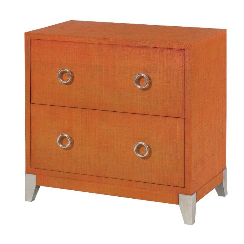 HIDDEN TREASURES-Orange Accent Chest