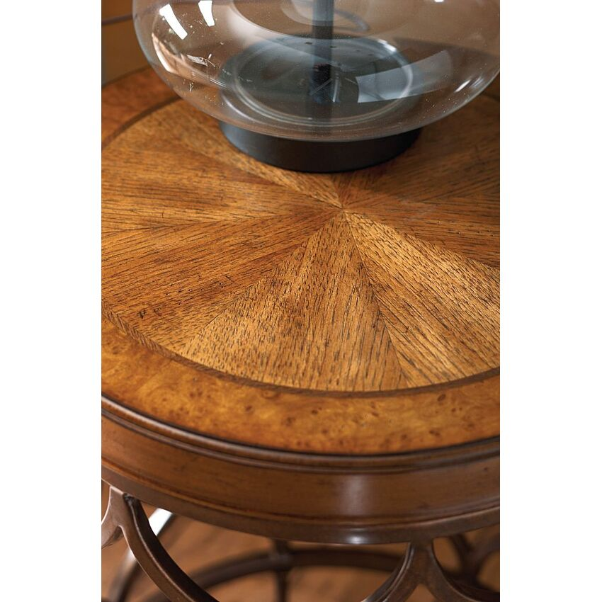 Round Lamp Table - 3