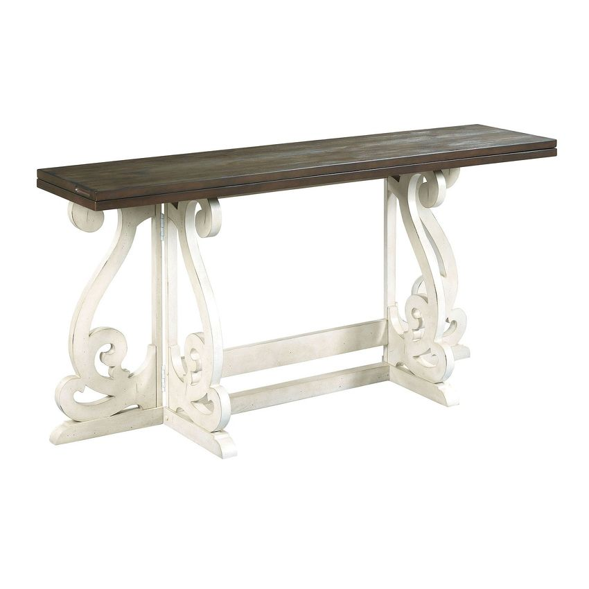 HIDDEN TREASURES-GATELEG TABLE
