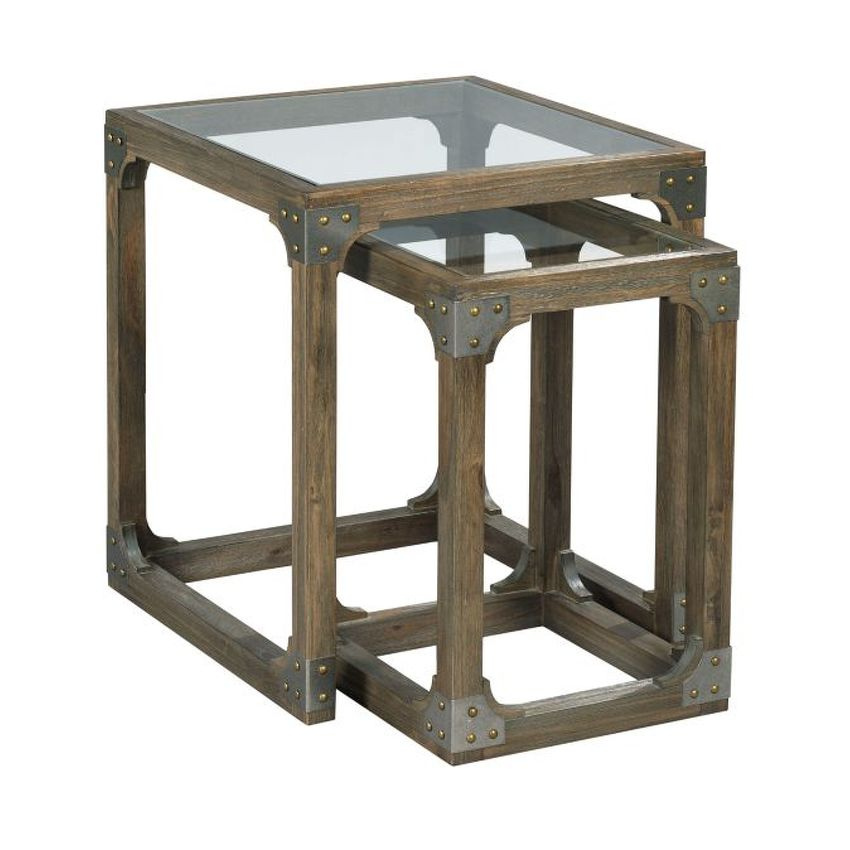 HIDDEN TREASURES-Rustic Nesting Tables