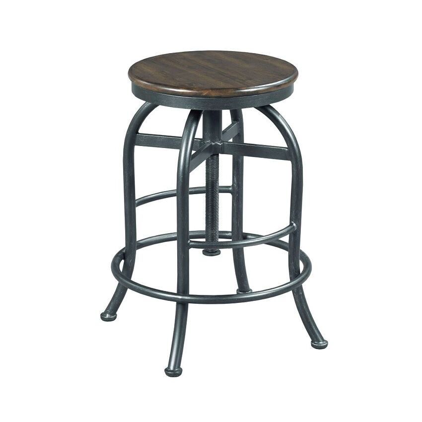 Adjustable Height Pub Stool. HIDDEN TREASURES