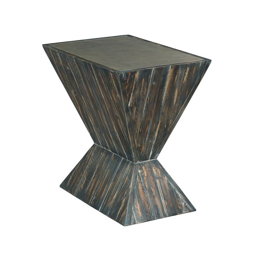 HIDDEN TREASURES-Angular Accent Table
