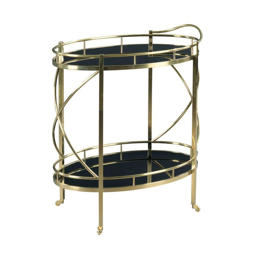 HIDDEN TREASURES-Rolling Bar Cart