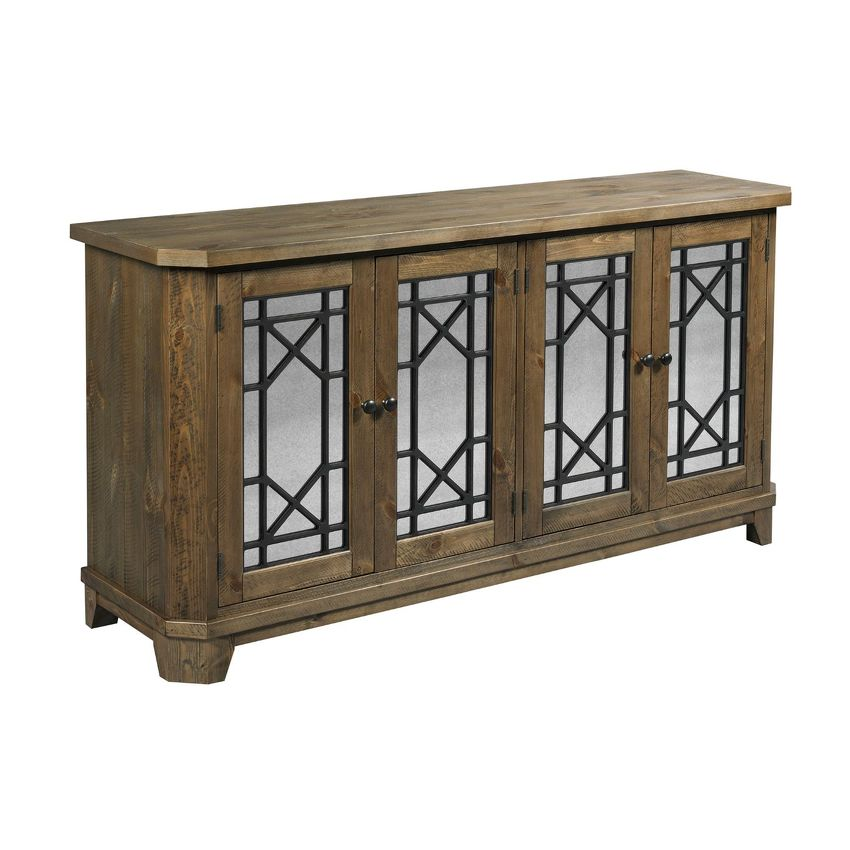 HIDDEN TREASURES-Rustic Door Console