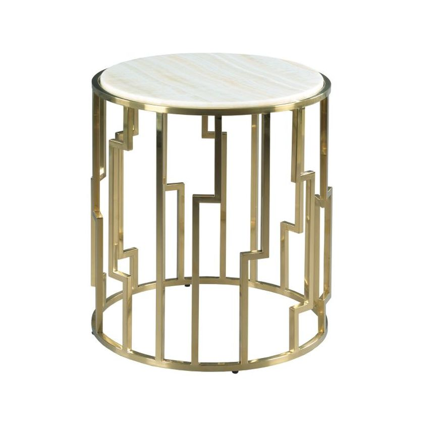 Geometric End Table - 1