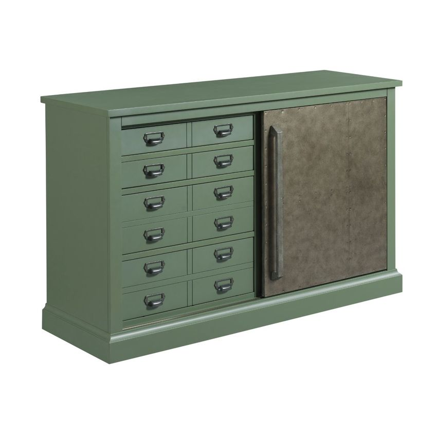 HIDDEN TREASURES-Sliding Door Console