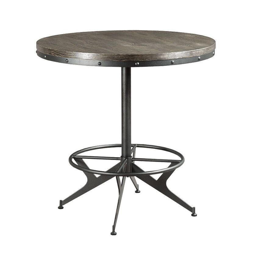 HIDDEN TREASURES-ROUND BAR TABLE