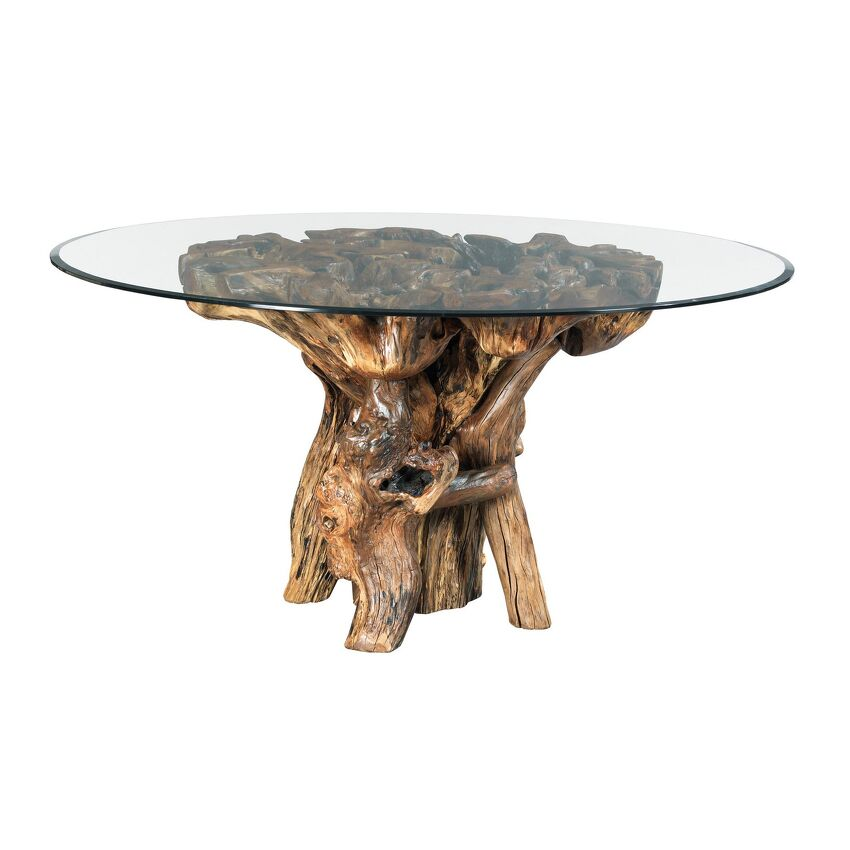 HIDDEN TREASURES-ROOT BALL DINING TABLE