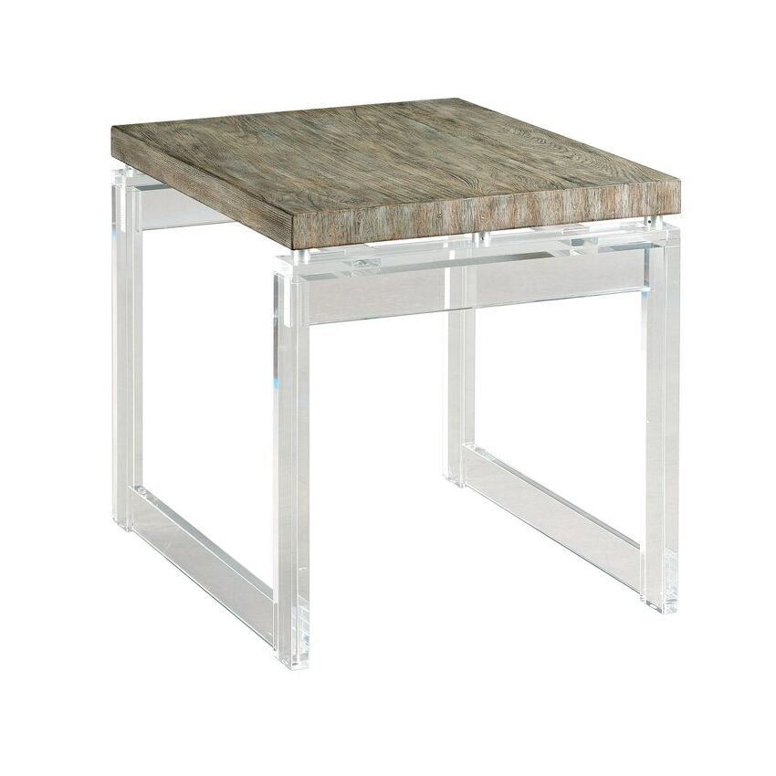 -ACRYLIC END TABLE