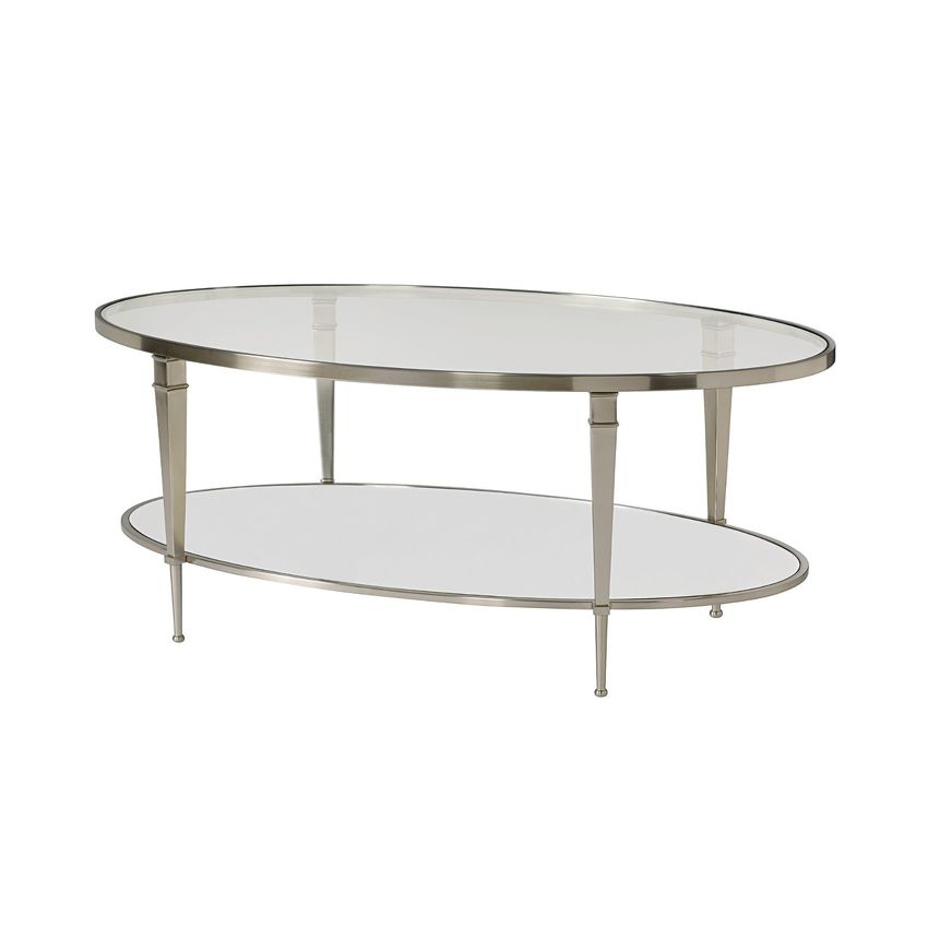 MALLORY-OVAL COCKTAIL TABLE