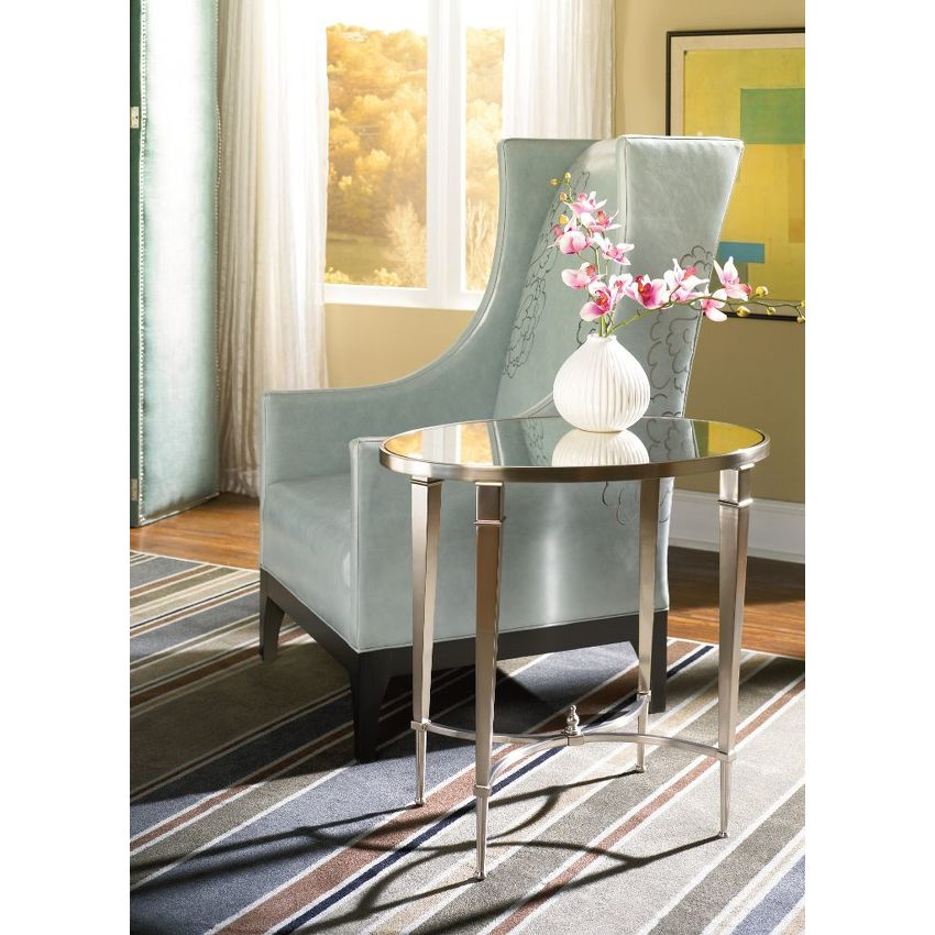OVAL END TABLE - 2