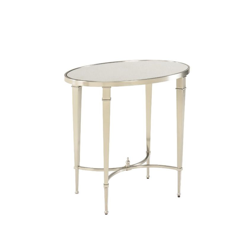 MALLORY-OVAL END TABLE