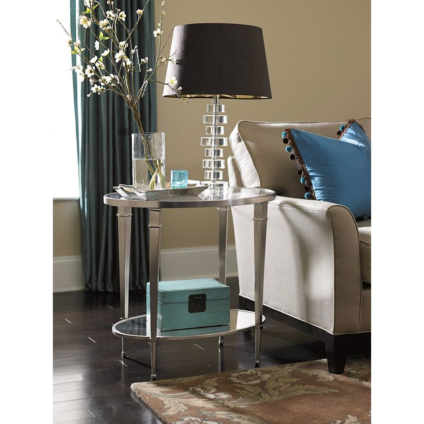 OVALE END TABLE - 2