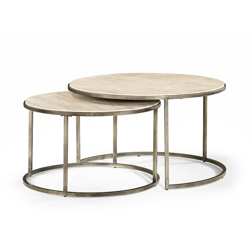 MODERN BASICS-Round Cocktail Table