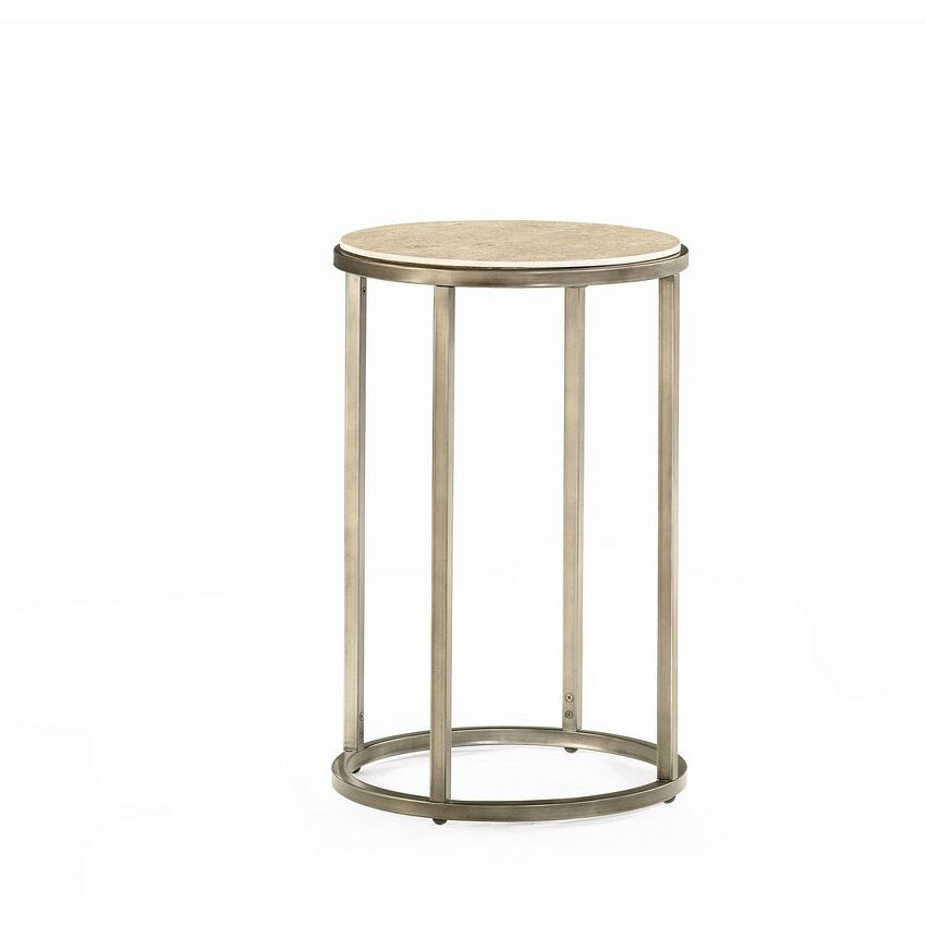 -ROUND END TABLE