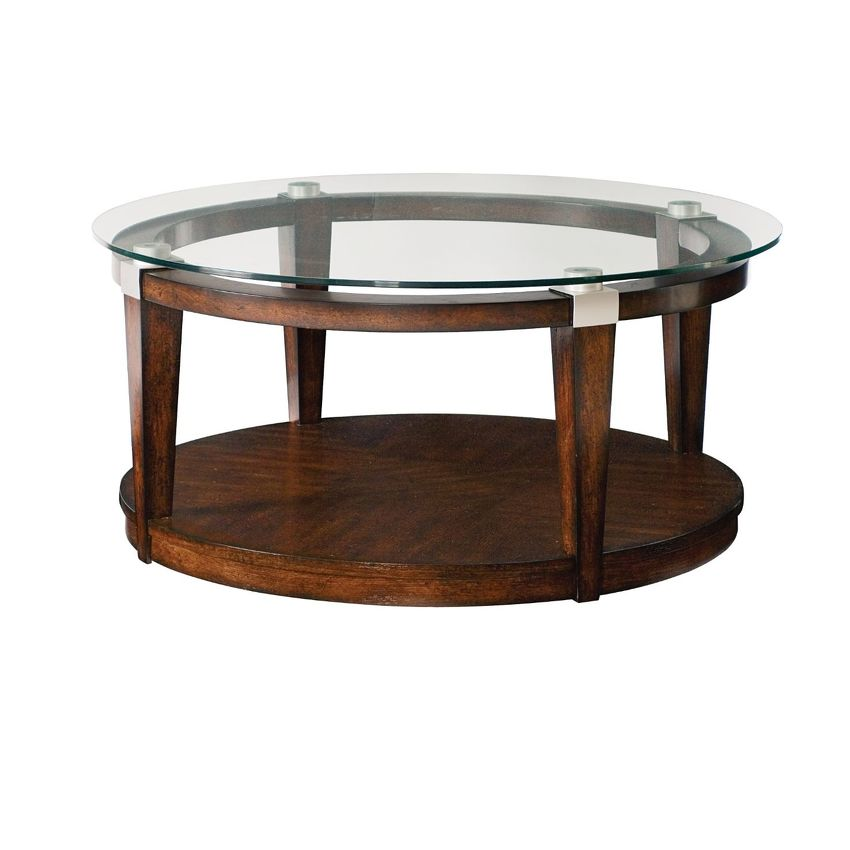 -ROUND COCKTAIL TABLE
