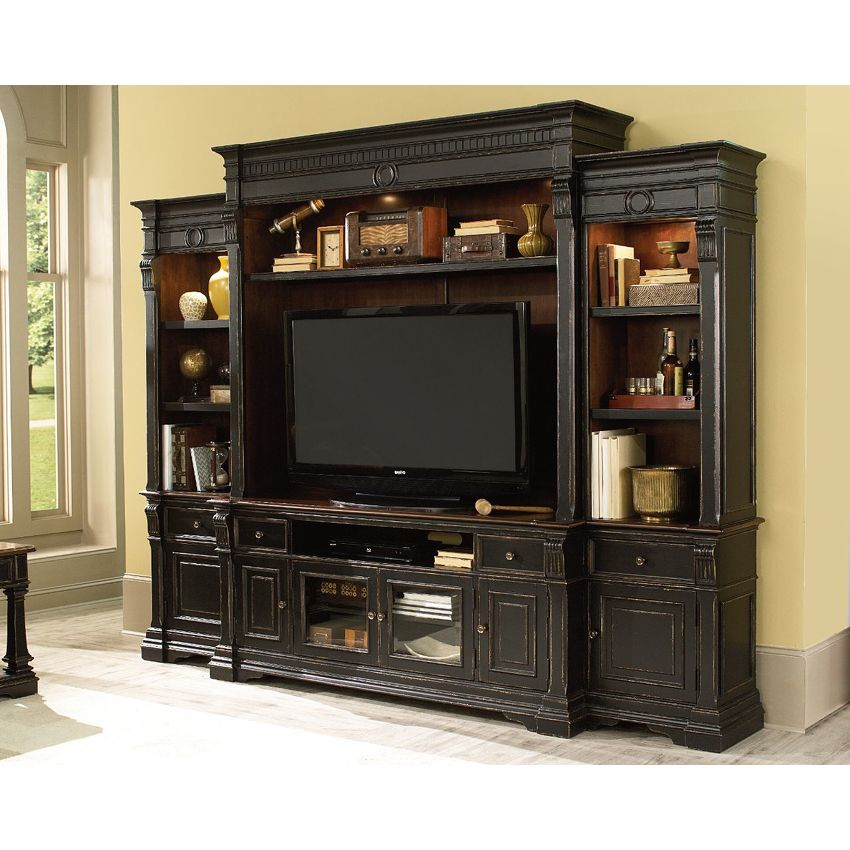 Entertainment Console Hutch - 3