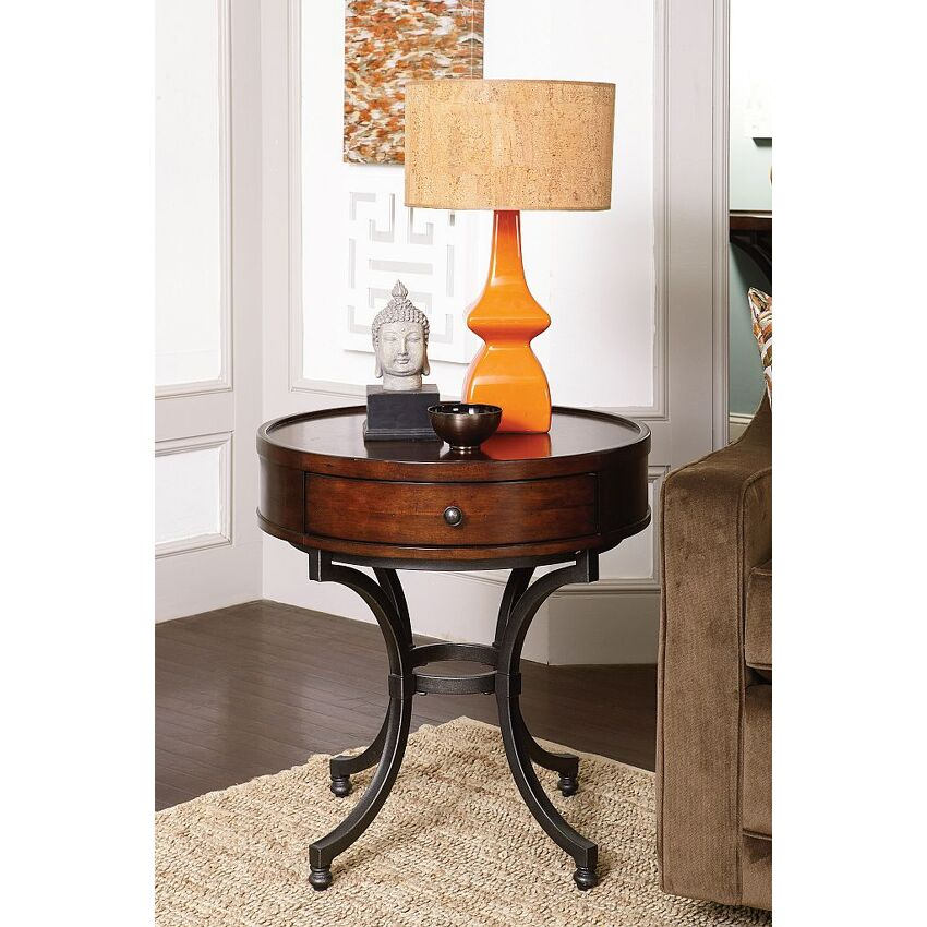Round End Table - 2