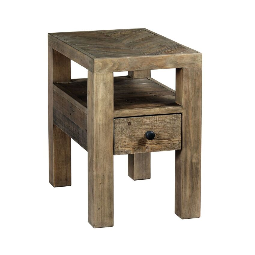 RECLAMATION PLACE-CHAIRSIDE TABLE