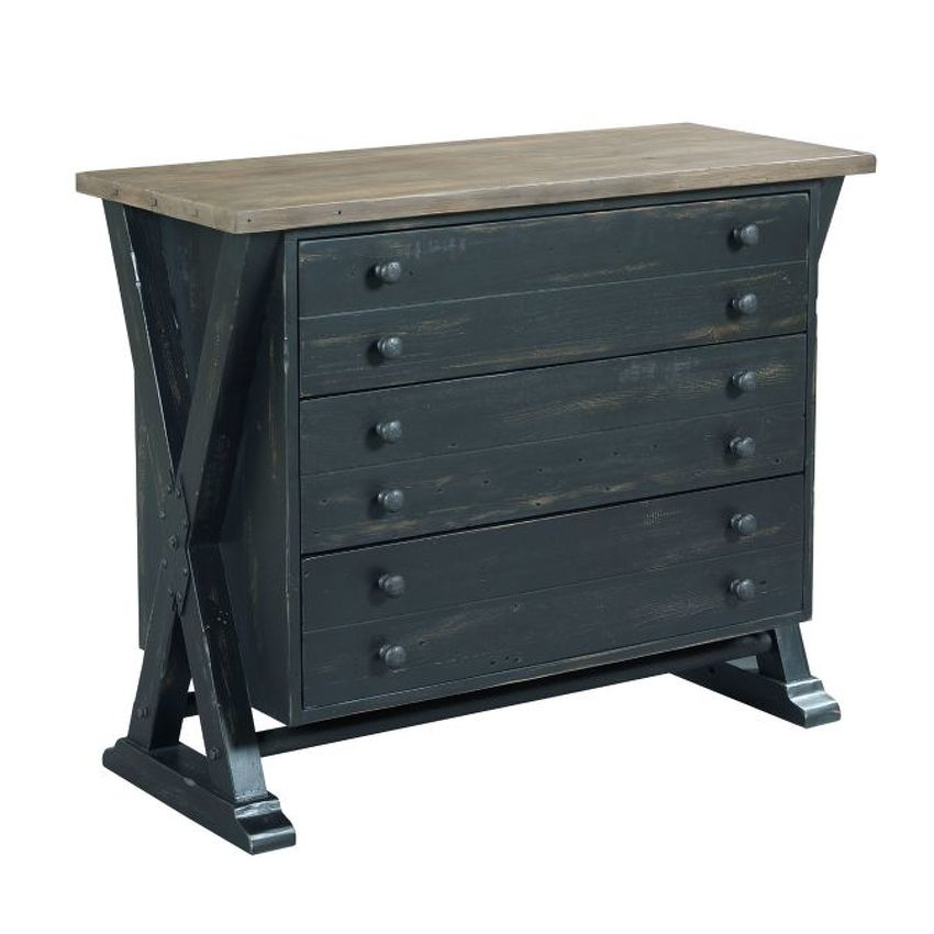 Trestle Drawer Cabinet