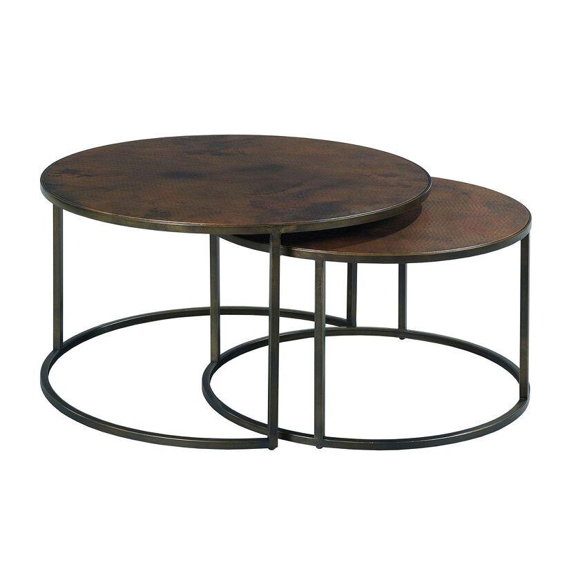 SANFORD-Round Cocktail Table