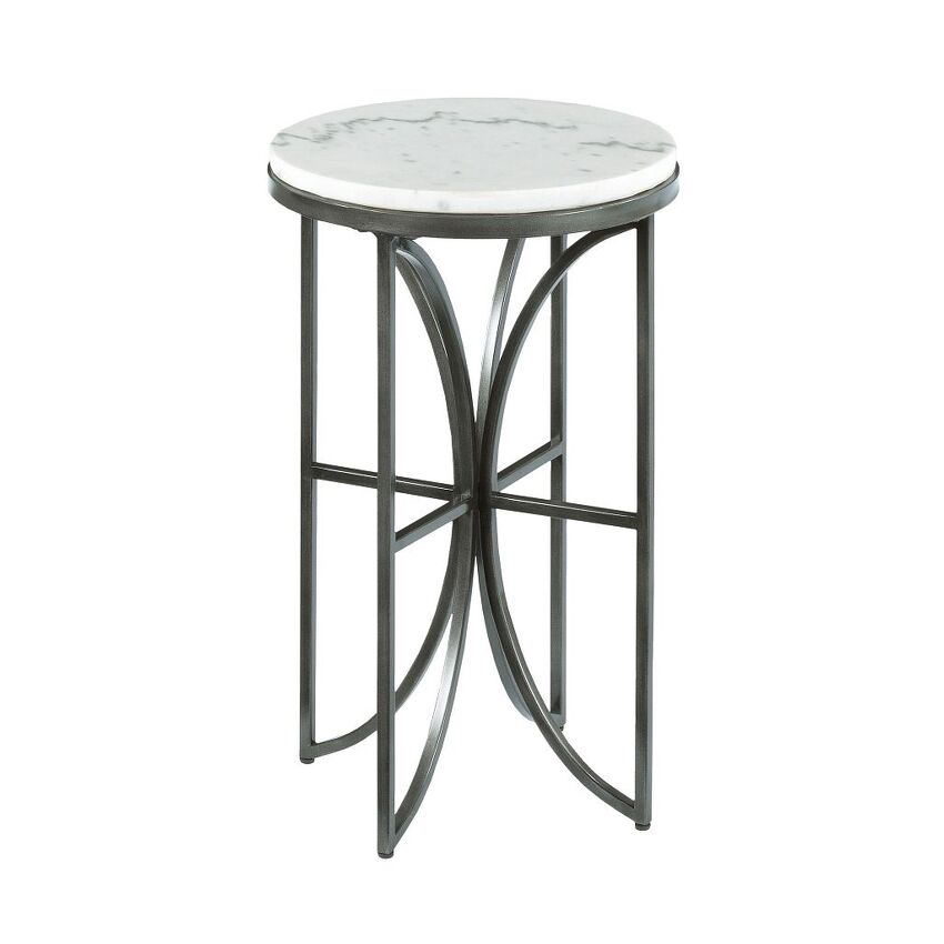 -Small Round Accent Table
