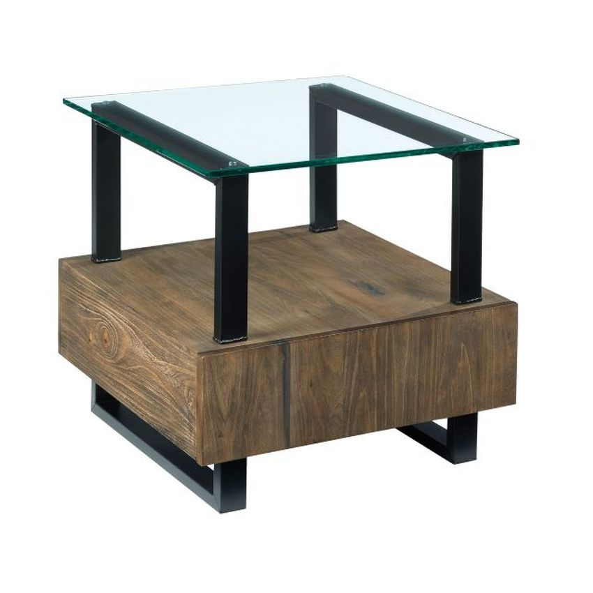 -Square End Table