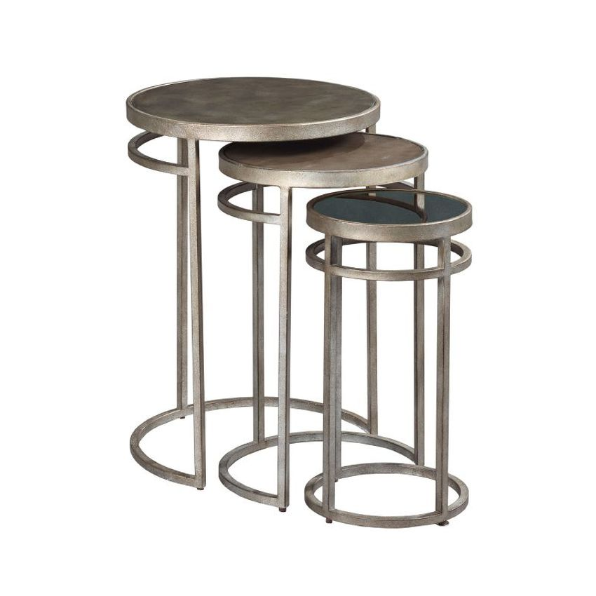 Mixed Media Nesting Tables