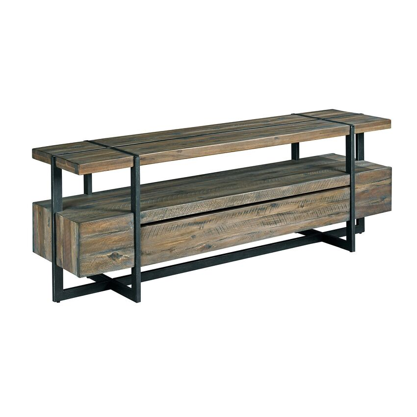 Modern Timber-Entertainment Console