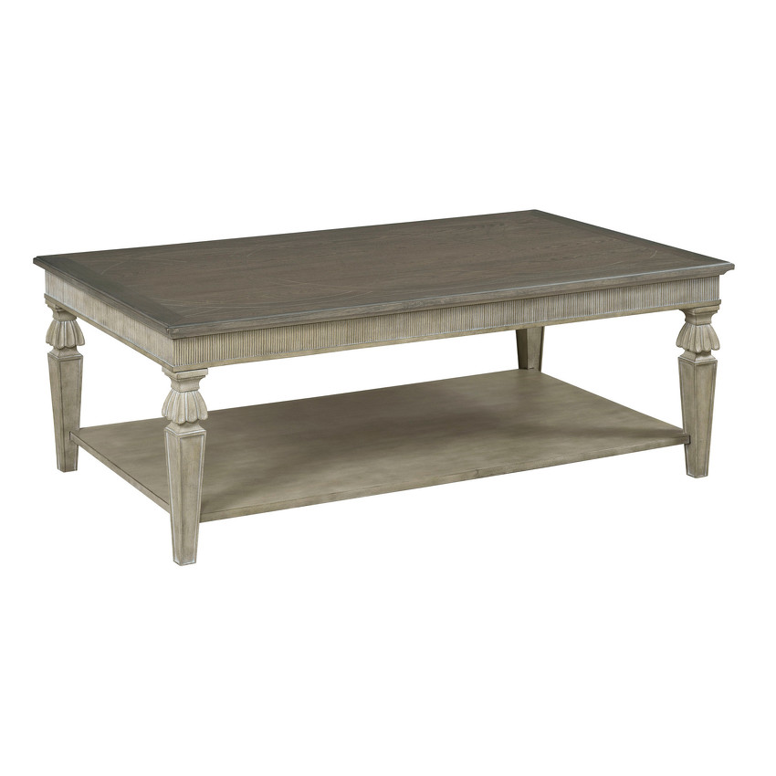 CECILIA RECTANGULAR COCKTAIL TABLE - 1