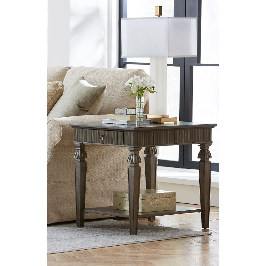 AURORA RECTANGULAR END TABLE - 2