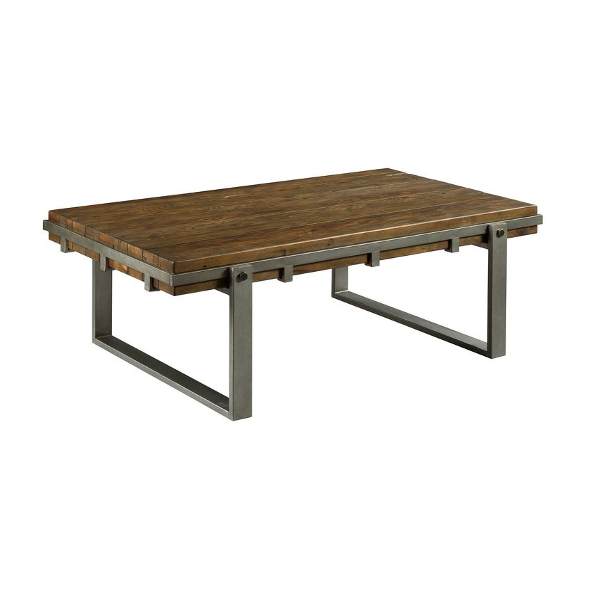 INTERMIX-Rectangular Cocktail Table