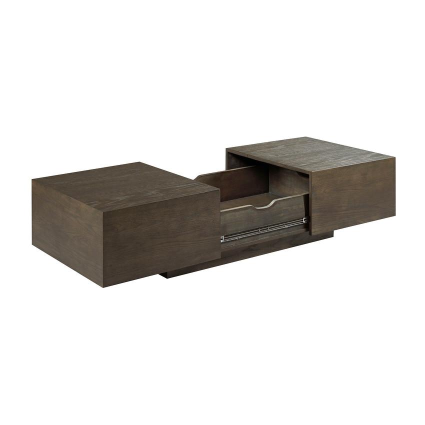 rectangular storage cocktail table. Black Bedroom Furniture Sets. Home Design Ideas