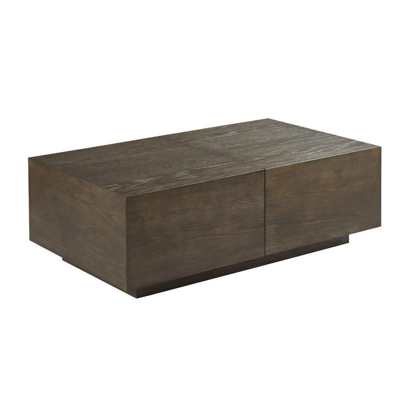 ESSENCE-Rectangular Storage Cocktail Table