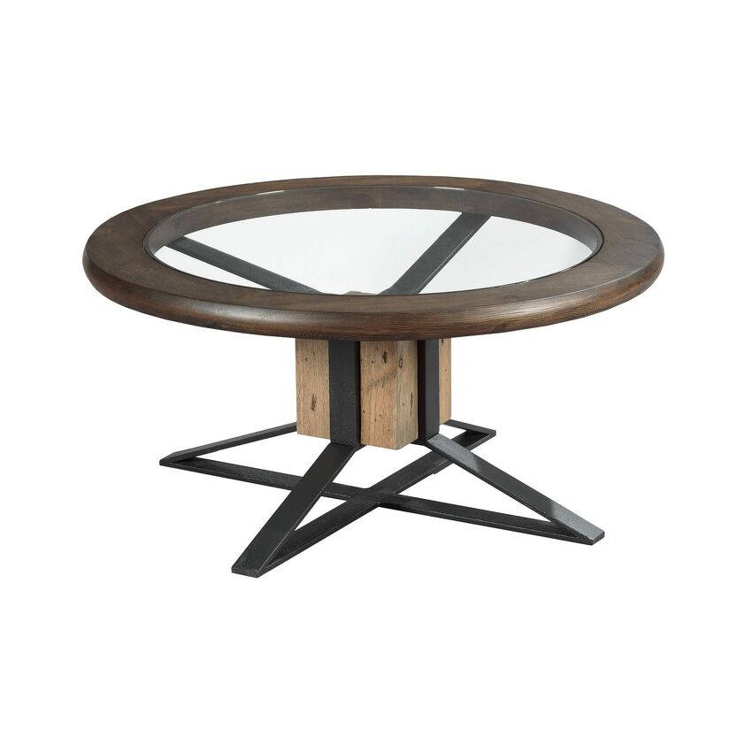 JUNCTION-Compass Cocktail Table