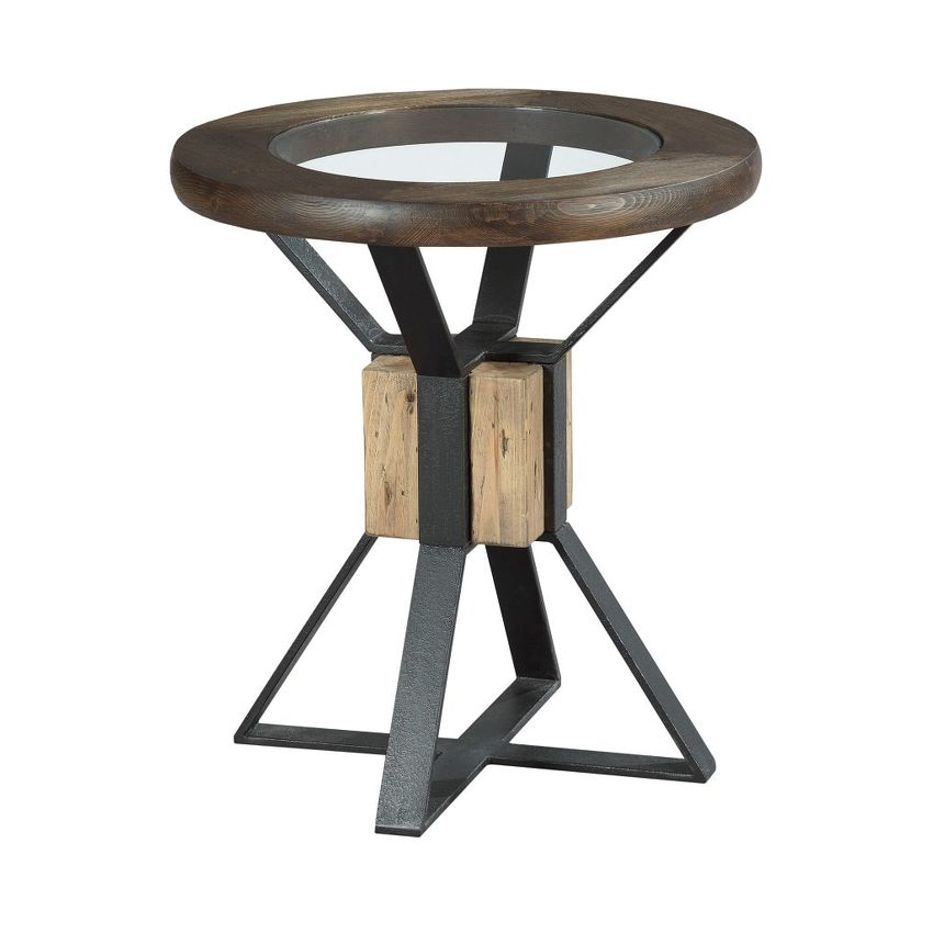 Compass End Table - 1