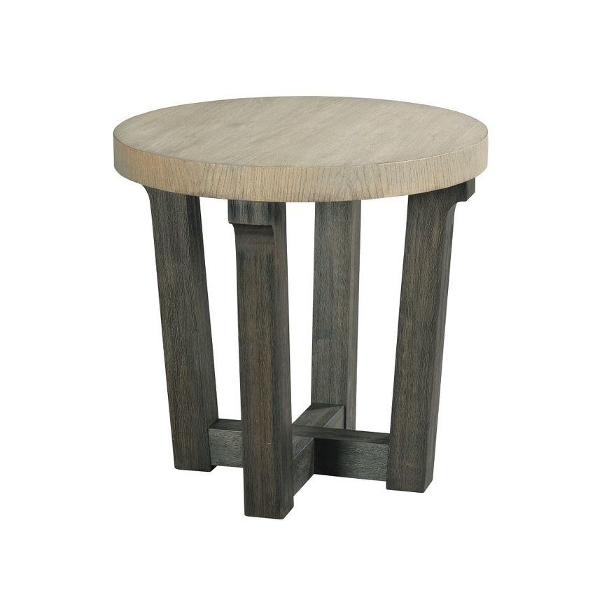 -ROUND ACCENT TABLE