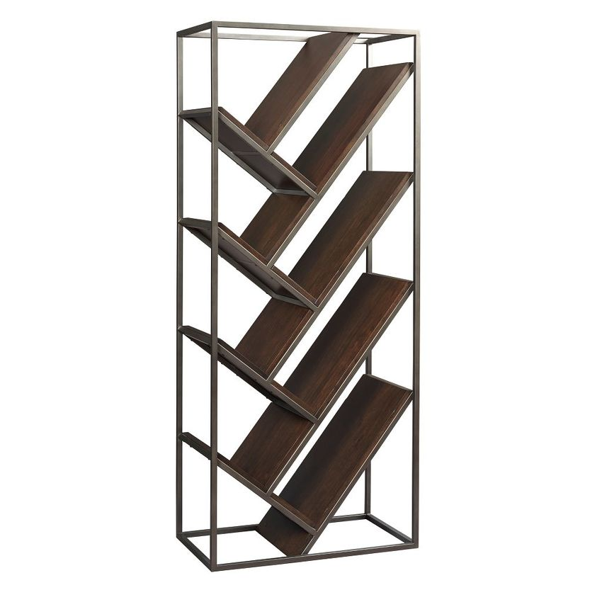 Modern Origins-Chevron Bookcase