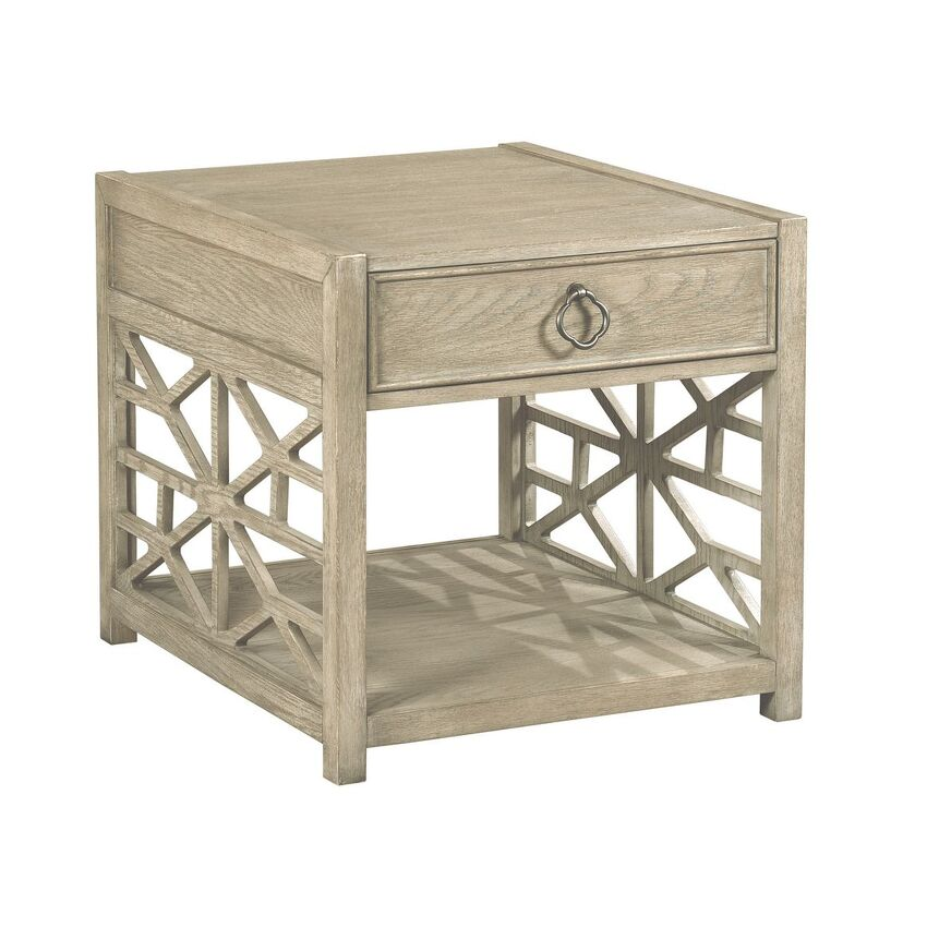 -BISCAYNE DRAWER END TABLE