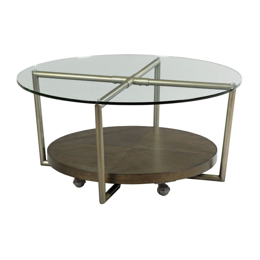 ETON-ROUND COCKTAIL TABLE