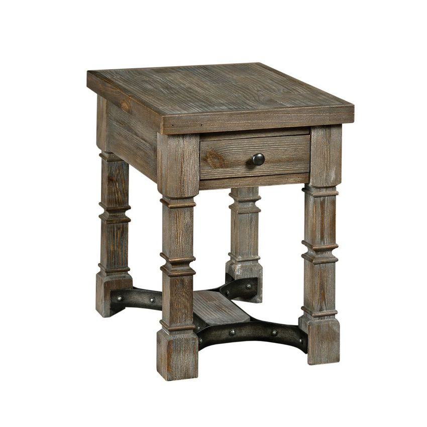 CHEYENNE-CHARGING CHAIRSIDE TABLE