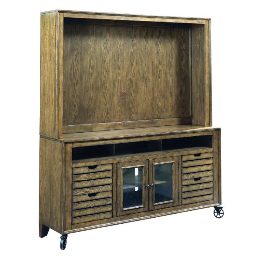 "Entertainment Center 66"" Hutch - 1"
