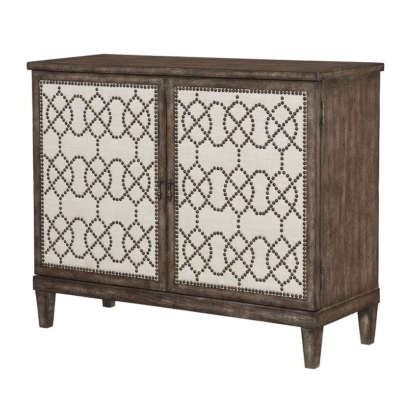 HIDDEN TREASURES-NAILHEAD CABINET