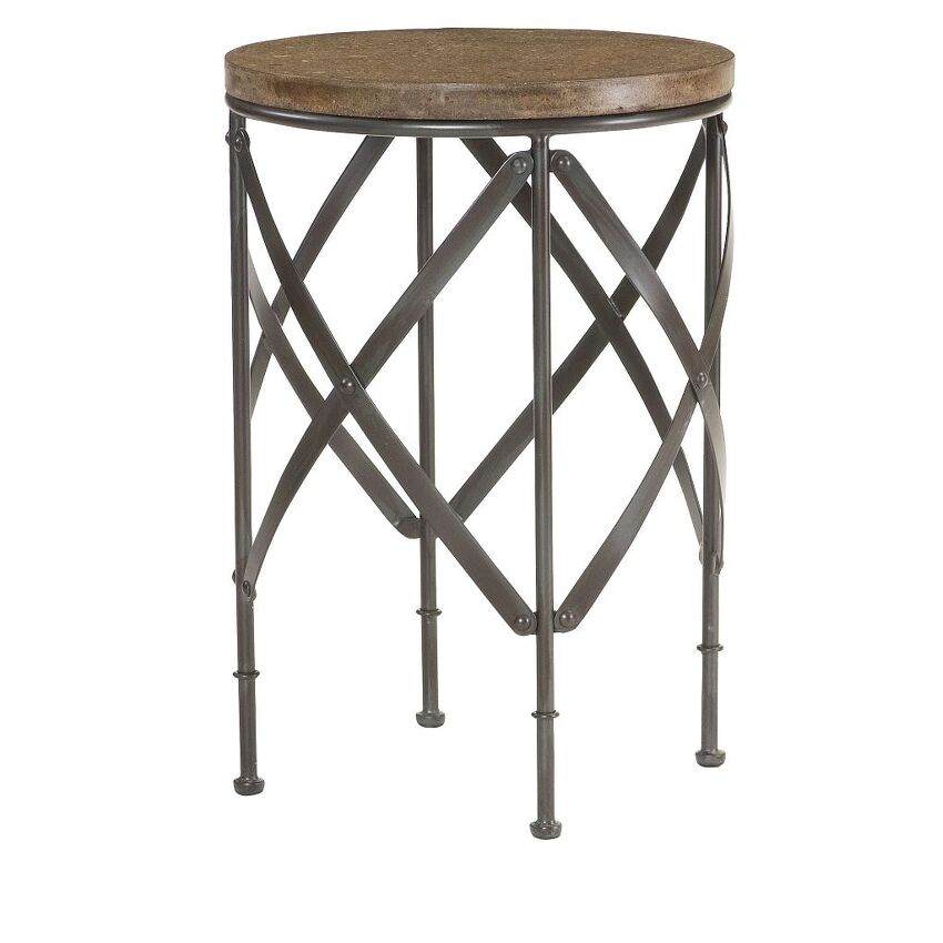 Round Metal Table - 1