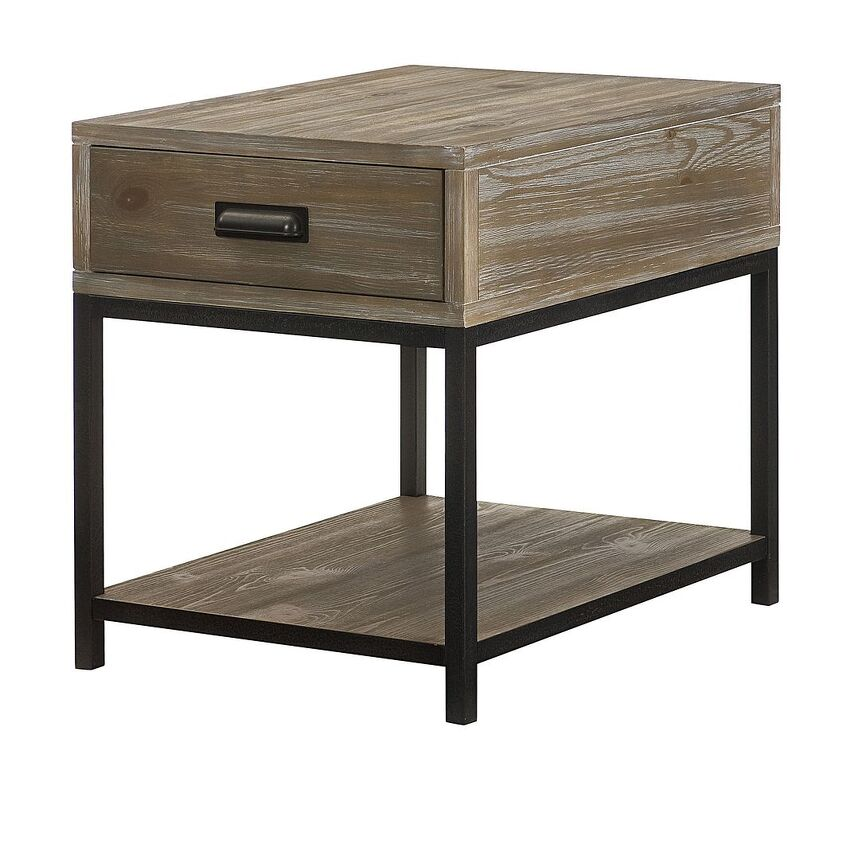 Rectangular Drawer End Table - 1