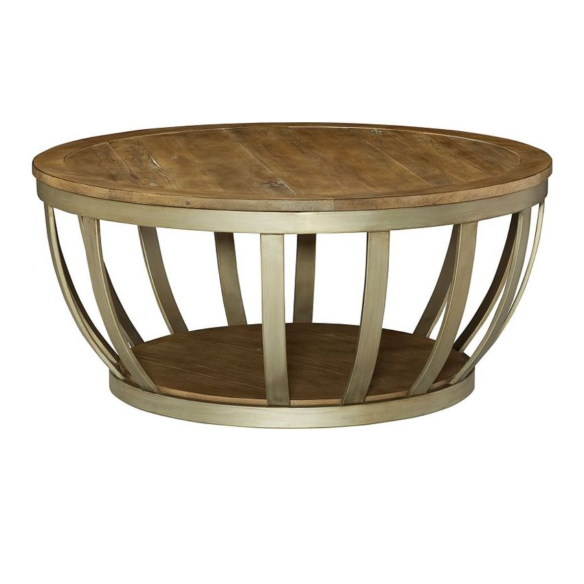 MODERN THEORY-Round Cocktail Table